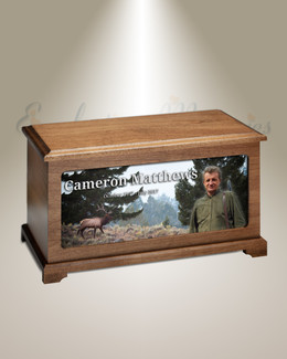 Forest Elk Picture Urn For Ashes