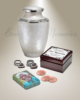 Classic Standard Urn Memorial Package