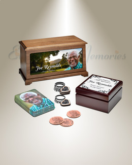 Classic Photo Urn Memorial Package