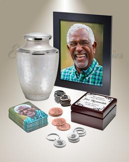 Royal Standard Urn Memorial Package