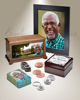 Royal Photo Urn Memorial Package