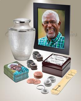 Grand Standard Urn Memorial Package