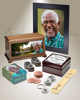Grand Photo Urn Memorial Package