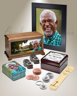 Grand Photo Urn Memorial Package