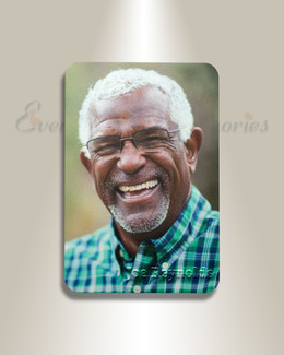 Memorial Photo Magnet