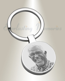 Memorial Photo Keychain