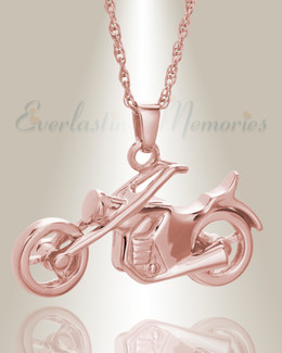 14K Rose Gold Cruisin Cremation Keepsake