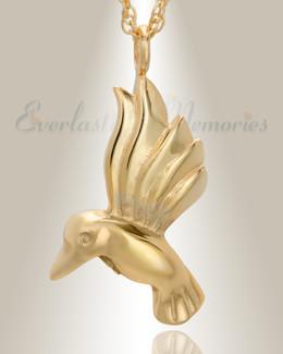 14K Gold Gliding Memories Keepsake