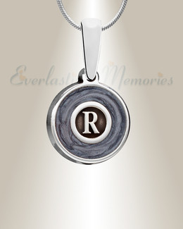 Silver Dusky Monogram Ashes Into Jewelry