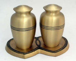 Companion Bronze Cremation Urn