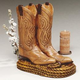 Cowboy Boots Individual Urn