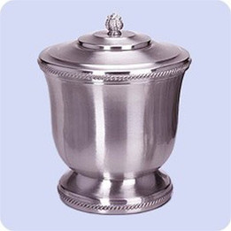 Jefferson Pewter Urn