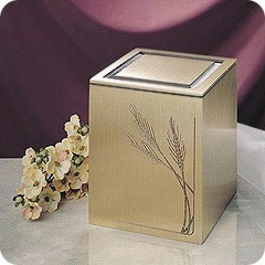 Guardian Wheat Cremation Urn