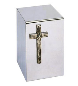Rugged Cross Urn