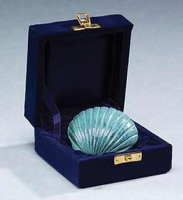 Patina Shell Keepsake Urn