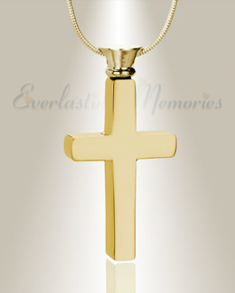 Forever Collection Remembrance Cross Locket Necklace