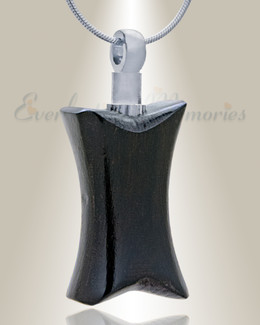 Forever Collection Ebony Timeless Remembrance Pendant