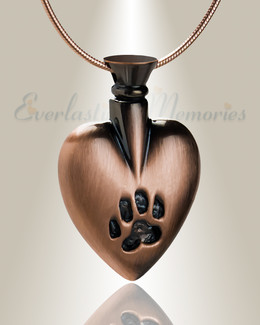 Forever Collection Copper In My Heart Urn Jewelry