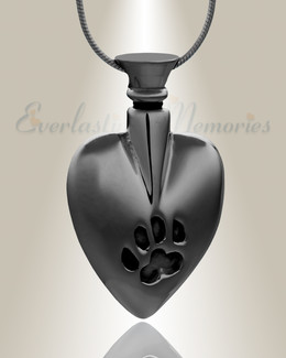 Forever Collection Black In My Heart Urn Jewelry