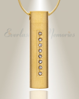Forever Collection Gold Plated Prince Cremation Pendant