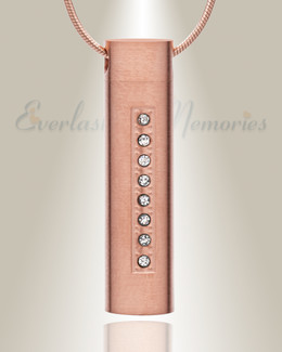 Forever Collection Rose Gold Plated Prince Cremation Pendant