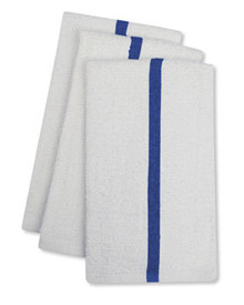 New white bar towel 17x20