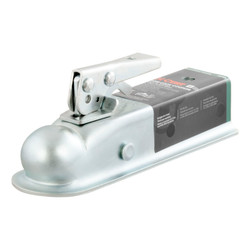 Class II- Posi-Lock Coupler- Zinc Finish- 3500lbs. Gross Trailer Weight- 500lbs. Tongue Weight- 2 in. Ball- 2 in. Channel-