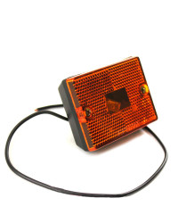 Small Amber Stud Mount Trailer Marker light