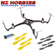 Blade BLH7600PRT Nano QX Parts Bundle (Main Frame, Battery, 4 CW & 4 CCW Props)