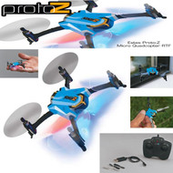 ESTES Proto-Z Micro Quadcopter RTF Quad w/Battery, Charger, Extra Props ESTT4611