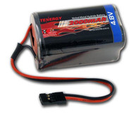 4.8V 2000mAh Square Receiver RX NiMH Battery Pack Futaba Hitec JR