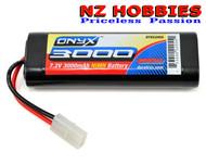 Duratrax Onyx NiMH 6-Cell 7.2V 3000mAh Stick Standard Battery DTXC2055