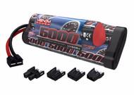Venom 8-Cell 9.6V 5000mAh NiMH Hump Battery TRX DEANS EC3 TAMIYA # VNR1548-8