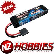 Traxxas 2869X 2S 7.4V 7600mAh 25C LiPo Battery w/ iD : E-Maxx E-Revo Burshless