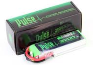 PULSE 3700mAh 11.1V 35C 3S Lipo Battery multi-rotors # PLU35-37003