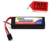 Duratrax DTXC1865 Onyx LiPo Battery 2S 7.4V 5000mAh 25C Hard Case Traxxas Plugs