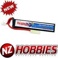 Tenergy 7.4V 1000mAh Li-Po Airsoft Stick Battery Pack # 31597