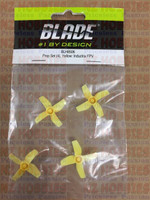 Blade BLH8506 Prop Set (4), Yellow: Inductrix FPV