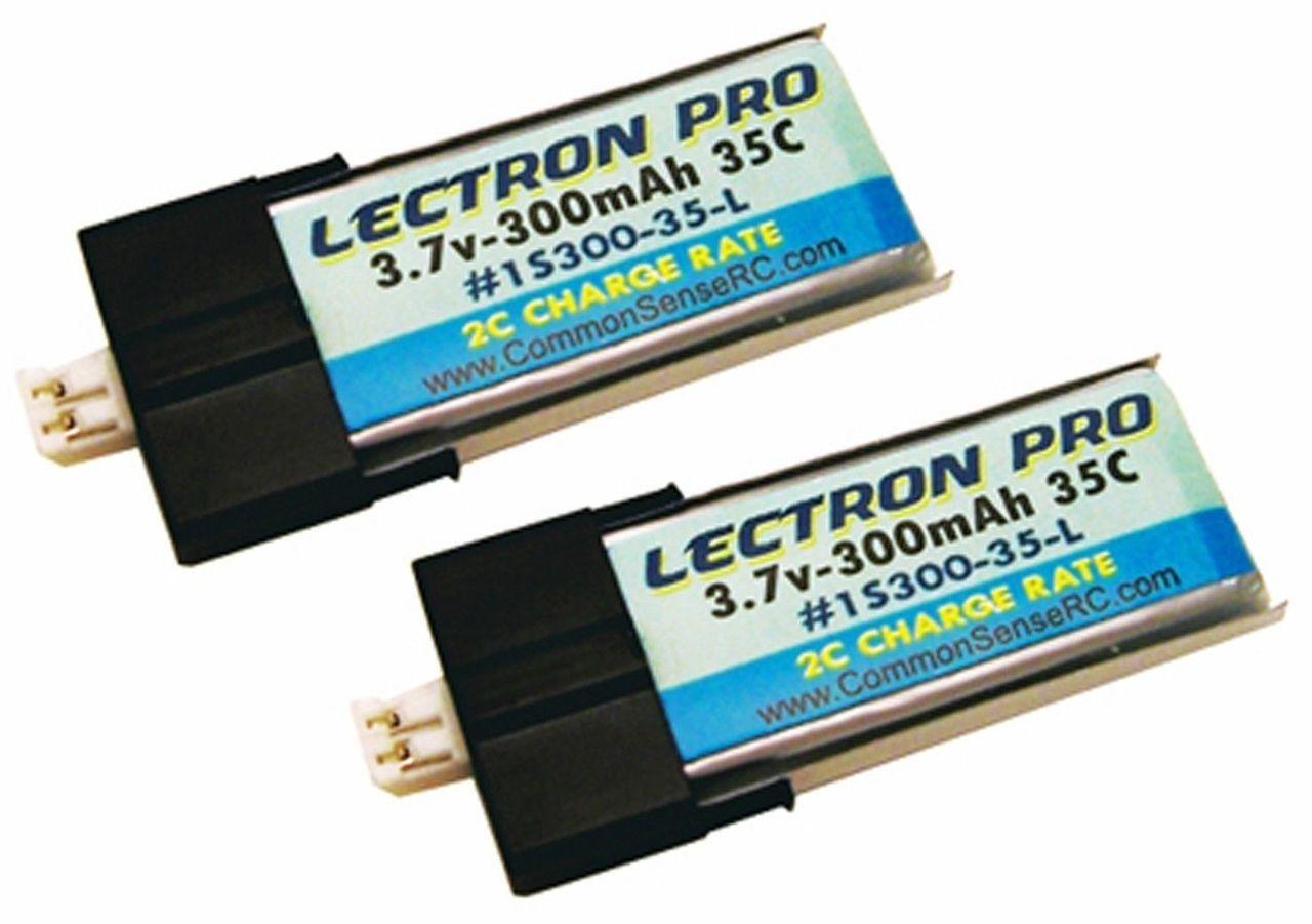 New Lectron Pro 3.7 volt 180mAh 45C Lipo Battery 6 pcs Blade mCX mSR 1S180-45-L