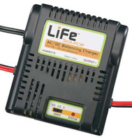 Hobbico HCAM6375 LiFeSource AC/DC Balancing Charger 1S-3S
