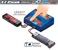 Traxxas 8amp EZ-Peak Plus 100W Dual Battery Charger 2S-3S LiPo / 5-8 Cell NiMH