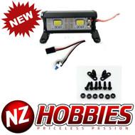 NZHOBBIES Aluminum Two LED Light Bar 35mm for RC Crawler, Cars & Truck