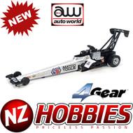 Auto World 4Gear NHRA Matco Tools-Antron Brown TFD R18 HO Scale Slot Car