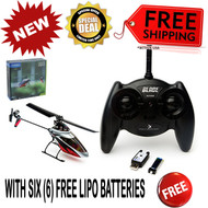 Blade BLH2900 mSR S RTF Helicopter SAFE Tech w/ FREE 6 Lipo Batteries