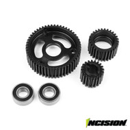Vanquish Products Incision IRC00190 SCX10 TRANSMISSION GEAR SET