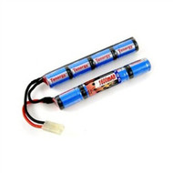 New Tenergy 9.6V 1600mAh Mini NiMH Battery Pack w/ Mini Tamiya Connector # 11423