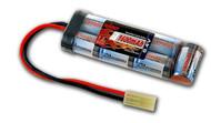 New Tenergy 8.4V 1600mAh Flat NiMH Airsoft Battery Pack w/ Mini Tamiya Connector