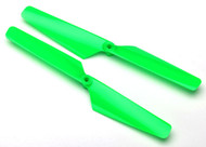 Traxxas 6631 Rotor Blade Set Green Alias (2)