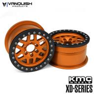 Vanquish Products VPS07735 KMC 1.9 XD229 MACHETE ORANGE ANODIZED