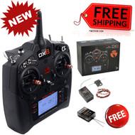 Spektrum SPM8015 DX8 8-Ch DSMX Transmitter Gen 2 w/ AR8010T + FREE AR6600T Receivers